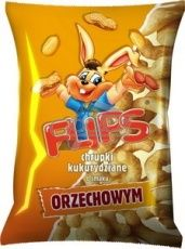 FLIPS CHRUPKI KUKURYDZIANE ORZECHOWE 70G