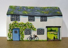 Garden Cottage by jamjarart on Etsy
