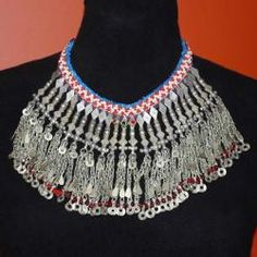 Old Kuchi Afghani Gypsy Necklace
