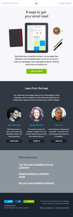 Really Good Emails — nice email designs