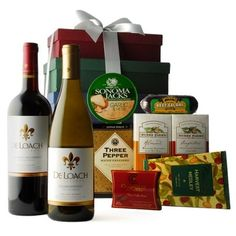 Sonoma Tower Food & Wine Gift - Gourmet Gift Basket