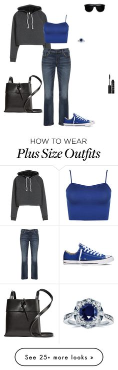 """""""Untitled #3892"""" by gone-girl on Polyvore featuring Silver Jeans Co., WearAll, Converse, Kara, Kobelli and NARS Cosmetics"""
