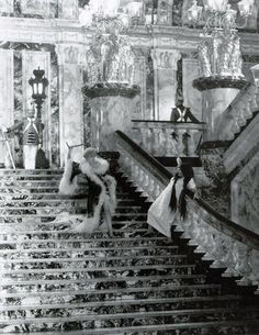 "Seena Owen and Gloria Swanson ""Queen Kelly"" 1929  http://lovethoseclassicmovies.blogspot.com/2011/11/queen-kelly-1929-let-queen-reign.html"