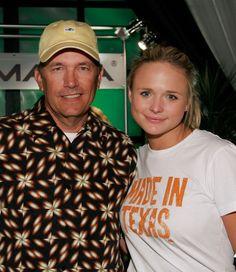 George Strait and Miranda Lambert.