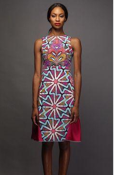 vlisco fabric dress - Google Search