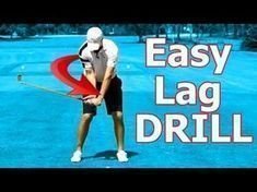 ▶ Online Golf Instruction: Best Drill Ever to Create Golf Swing Lag - YouTube #golfinstructions