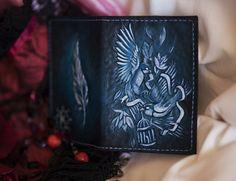 """Обложка для паспорта """"Птицы"""""""