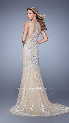 La Femme 21556   La Femme Fashion 2014 - La Femme Prom Dresses - La Femme Cocktail Dresses