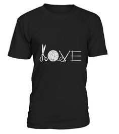 """# Knitting Love T shirt .  100% Printed in the U.S.A - Ship Worldwide*HOW TO ORDER?1. Select style and color2. Click """"Buy it Now""""3. Select size and quantity4. Enter shipping and billing information5. Done! Simple as that!!!Tag: Knitters, knitting, Crochet, knit, Crafting, needlepoint, yarn, Counting"""