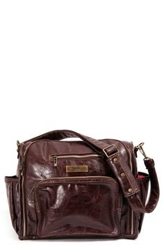 Ju Be Fabulous Earth Leather Faux Diaper Bag