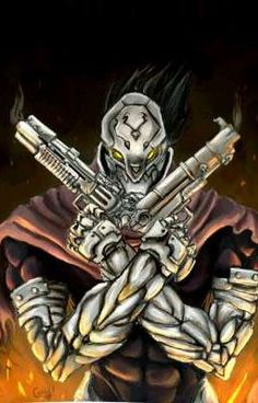 Darksiders : Strife by chimicalstar on DeviantArt Darksiders Horsemen, Darksiders Game, Anime Fantasy, Fantasy Art, Horsemen Of The Apocalypse, Beautiful Dark Art, Robot Concept Art, Minecraft Fan Art, Superhero Design