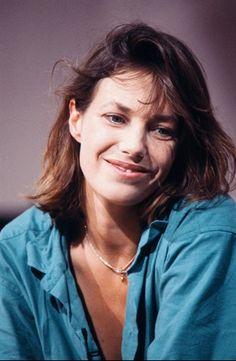 Jane Birkin filming at Maison de Radio France studios September 9th 1985 | Photo credit Pascal George/AFP/Getty.