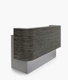 The REM Lunar Reception Desk with LED lighting, storage space and cupboard to the rear. Available in all REM Laminate colours or two laminate colours. Salon Reception Desk, Hotel Reception, Salon Furniture, Furniture Design, Laminate Colours, Modern Interior, Interior Design, Spa Rooms, Lobby Design