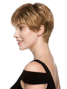 short hair side