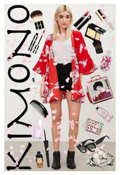 """Memoirs of an American Geisha"" by rachael-aislynn ❤ liked on Polyvore featuring Kimchi Blue, Olympia Le-Tan, SUQQU, Givenchy, NYX, Tatcha, Fresh, Essie, CÉLINE and Kate Spade"