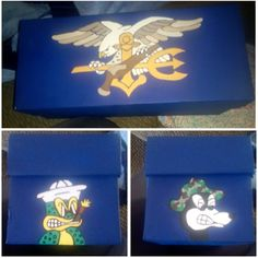 Box for my dad #navyseal #frogmen