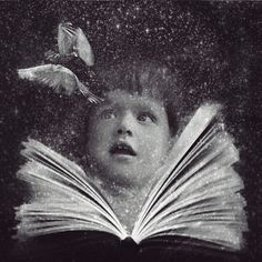 One of my favorite pictures.....the imagination of books :)