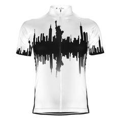 Men s Bronx New York City Cycling Jersey. Cycling Wear ... c5b5512d8
