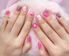 top 32 cutest mismatched nail designs Amazing Mismatched Nail Art Designs Trends Ideas what regarding mismatched nails?Some are insanely random however additional typically than not, their beauty lies in however the variable nail art for eve Nail Designs Tumblr, Light Pink Nail Designs, Valentine's Day Nail Designs, Short Nail Designs, Nails Design, Cute Pink Nails, Pink Nail Art, Pink Art, Cheetah Nails