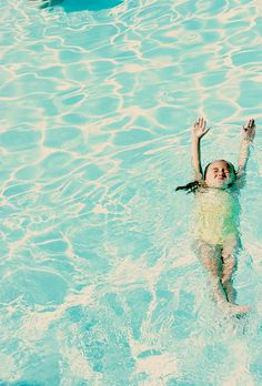 Teach your kiddies how to swim this summer so they can cool down in the pool or ocean!