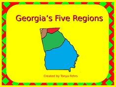 This+PowerPoint+teaches+students+about+the+five+regions+of+Georgia.++