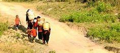 Hiking at Myanmar