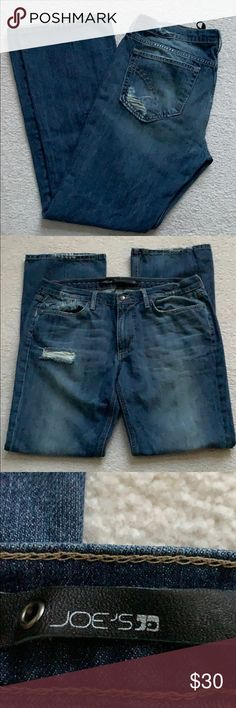 Lee Damen Jeans Sweatpants Relaxed Fit Blau Rocky Blue