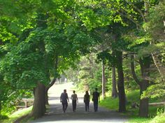 Point Pleasant Park, Halifax There are many green spaces & trailways to enjoy throughout HRM