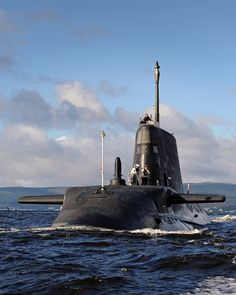 HMS Ambush arrives at Faslane Naval Base