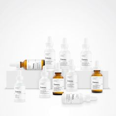 What makes The Ordinary's serums unique is their simplicity—each bottle contains only one or two active ingredients, like vitamin C, hylauronic acid, and retinoid (all of which we're used to...