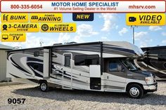New 2015 Coachmen Leprechaun 320BH Bunk House W/5 TV, 3 Cam , Swivel Seat For Sale by Motor Home Specialist available in Alvarado, Texas