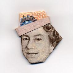 Origami is money
