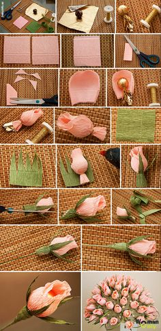 Step by step DIY paper flowers wedding bouquets tutorials . Best Picture For Wedding Bouquet simpl Candy Flowers, Paper Flowers Wedding, Tissue Paper Flowers, Flower Bouquet Wedding, Diy Flowers, Fabric Flowers, Flower Bouquets, Wedding Dress, Chocolate Flowers Bouquet