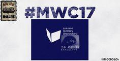 Samsung Galaxy S8 представят в феврале  Инсайдер Ricciolo1 опубликовал в своем Twitter дату следующей презентации Samsung. Он утверждает, что новый Galaxy S8 представят, как и планировалось, на выставке MWC 2017 в Барселоне.