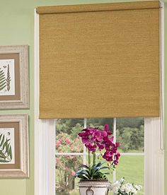 Bamboo Window Roman Shade Kona Natural Home Pinterest