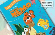In the warm tropical waters of the Great Barrier Reef, a Clownfish named Marlin lives with his only son Nemo. Nemo is unexpectedly taken far from homeand put into a fish tank in a dentist's office in Sydney. Your child helps Marlin and his new friend, Dory, in their search to find Nemo. On their journey they encounter numerous dangers, but eventually Marlin and Nemo are reunited. #childrensbooks #personalisedbooks #giftsforchildren #disneygifts #disneybooks