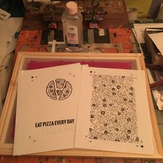 Screen Printing Using the Baby Oil Technique, Step-by-Step Notes & Photos — Medium