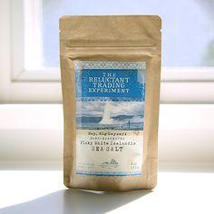 Icelandic Coarse Sea Salt in resealable zipper lock bag