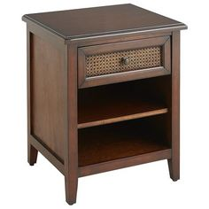 Melia Nightstand - Tobacco Brown