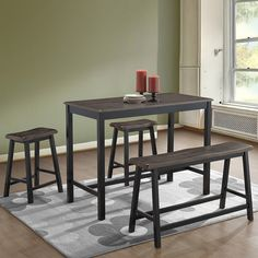 Modern Hairpin Round Walnut Dining Table In 2019 Ideas Pinterest