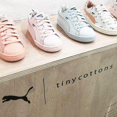 PUMA X TINY COTTONS. footwear design, colors & materials - alexandra dobra