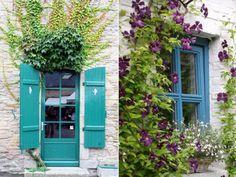como pintar portas e janelas com cores vibrantes