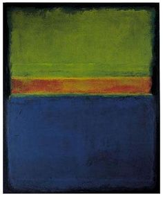 Mark Rothko, No. 2, Blue Red Green, 1953