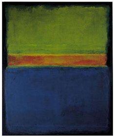 Daily Rothko - Mark Rothko, No. 2,  Blue Red Green, 1953