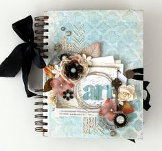 Album by Cari Fennell using Spiral Kraft album and Mechanicals  amazing class with an amazing teacher