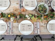 FARM CHIC WEDDING IDEAS // www.laceinthedesert.com // he growing trend for fresh and organic food in our everyday lives is a huge influencer on this kind of theme; think earthy textures, rustic inspired stationery, freshly prepared food and then add as much or as little colour as  you like. Sharing platters and alternative food serving options like food trucks are a great addition to making this kind of theme unique.