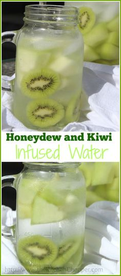 Honeydew and Kiwi Infused Water  The Kitchen Chopper