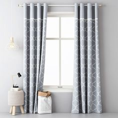 Dekoračný záves HELLA 140 x 250 cm šedý sada 2 ks Curtains, Living Room, Modern, Home Decor, Google, Blinds, Trendy Tree, Decoration Home, Room Decor