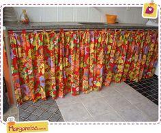 cozinhas com cortina de chita - Pesquisa Google