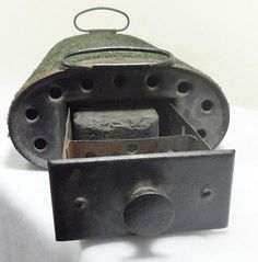 Antique The Clark Heater 3D Automobile Car Bed Buggy Sleigh Foot Warmer Model T
